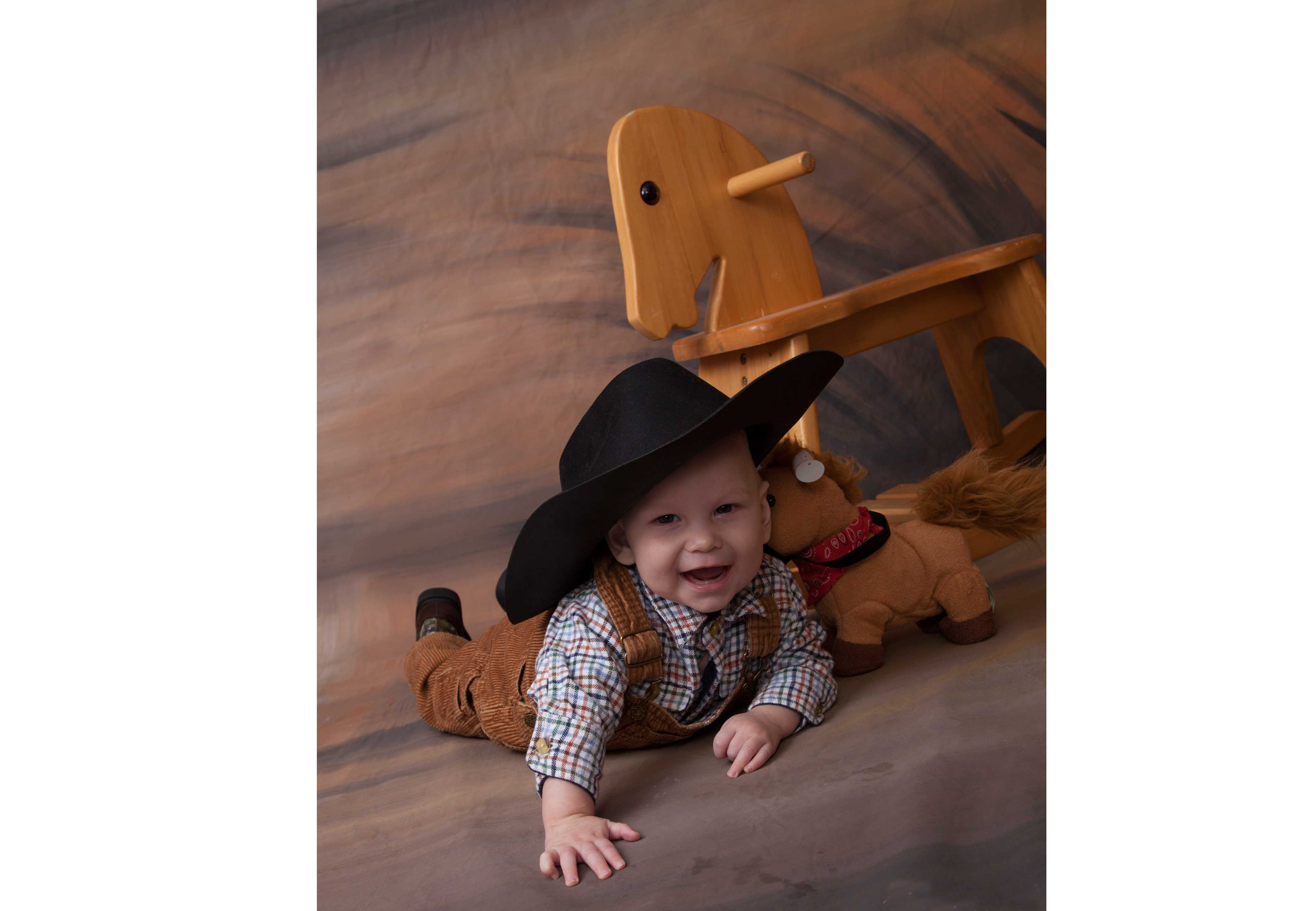 cowboy baby session