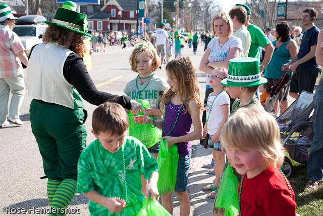 St Patrick's Day children
