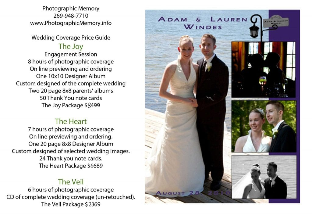 2 Wedding Prices