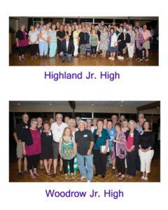 Junior high groups